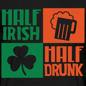 Half Irish png - Men's T-Shirt