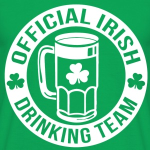 Official Irish Drinking Team png - Men's T-Shirt