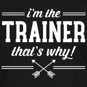 I\'m The Trainer - That\'s Why! Magliette - Maglietta Contrast da uomo