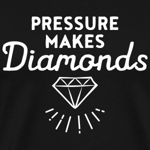 Pressure Makes Diamonds T-shirts - Premium-T-shirt herr