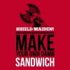 Shield maiden! Make your own damn sandwich Koszulki - Koszulka męska Premium