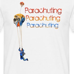 parachuting T-Shirts - Men's T-Shirt