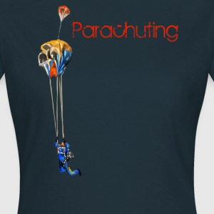 parachuting T-Shirts - Women's T-Shirt