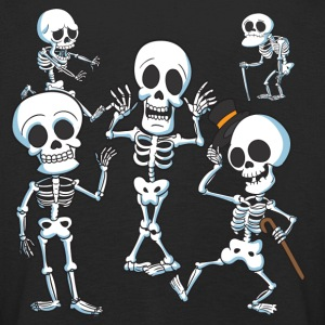 The Spooky Skeletons - Kids' Premium Longsleeve Shirt