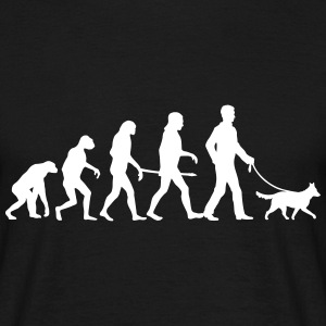 Evolution Medium Dog - Mens Edition T-Shirts - Männer T-Shirt