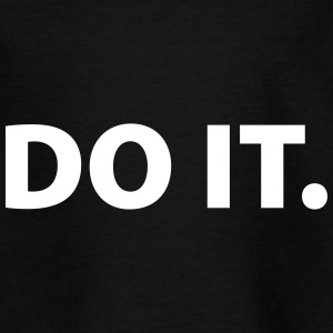 Do it Camisetas - Camiseta adolescente