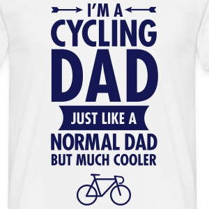 I´m a cycling dad  - Men's T-Shirt