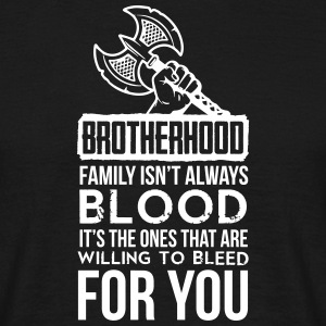 Viking - Family isn't always blood T-Shirts - Men's T-Shirt