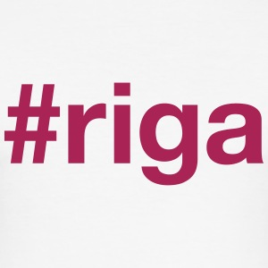 RIGA T-shirts - Slim Fit T-shirt herr