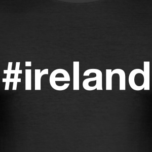 IRELAND T-Shirts - Men's Slim Fit T-Shirt