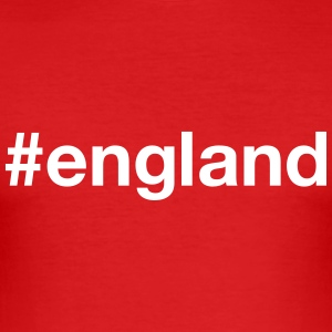 ENGLAND T-Shirts - Men's Slim Fit T-Shirt