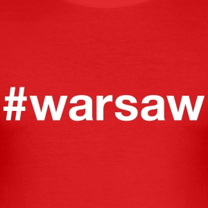 WARSAW T-Shirts - Men's Slim Fit T-Shirt