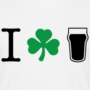 I Clover Pint - Men's T-Shirt
