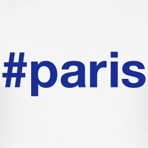 PARIS T-Shirts - Men's Slim Fit T-Shirt