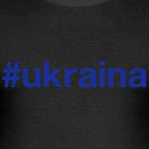 UKRAINE T-Shirts - Men's Slim Fit T-Shirt