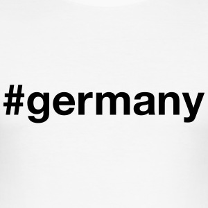 GERMANY T-Shirts - Men's Slim Fit T-Shirt