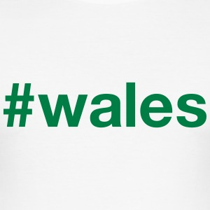 WALES - Männer Slim Fit T-Shirt