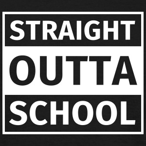 straight outta school T-Shirts - Men's T-Shirt