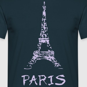 paris t-shirt - Mannen T-shirt