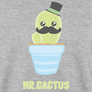 Gris chiné Mr. Cactus Sweat-shirts - Sweat-shirt Homme