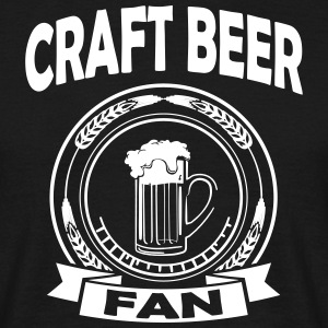craft beer fan Tee shirts - T-shirt Homme