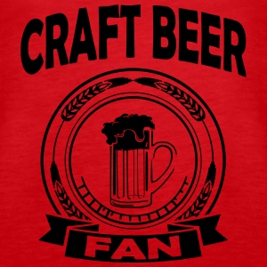craft beer fan Topper - Premium singlet for kvinner