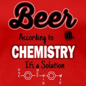 Beer is a solution Tee shirts - T-shirt Premium Femme
