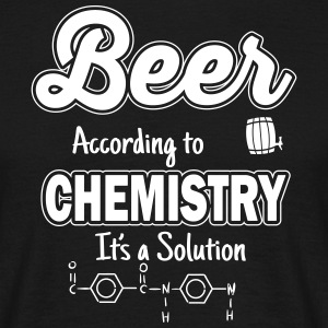 Beer is a solution T-shirts - Herre-T-shirt