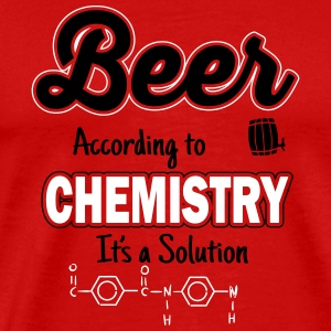 Beer is a solution Tee shirts - T-shirt Premium Homme