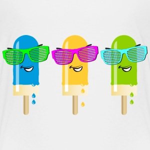 Eis am Stiel ice lolly ice cream Sommer popsicle - Kinder Premium T-Shirt