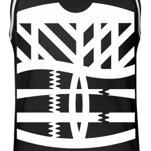 an abstract graphic tattoo Sports wear - Men's Basketball Jersey