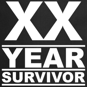 XX year survivor  Aprons - Cooking Apron