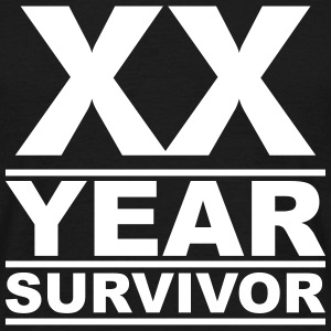 XX year survivor T-Shirts - Men's T-Shirt