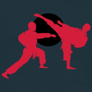 two karate fighter  T-Shirts - Men's T-Shirt