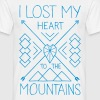 Lost my heart to the mountains T-Shirt - Männer T-Shirt