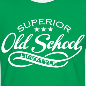 old school T-Shirts - Men's Ringer Shirt