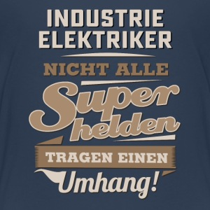 Superhelden in Sepia - Industrie Elektriker - RAHMENLOS Beruf Job Arbeit lustig T-Shirts - Teenager Premium T-Shirt