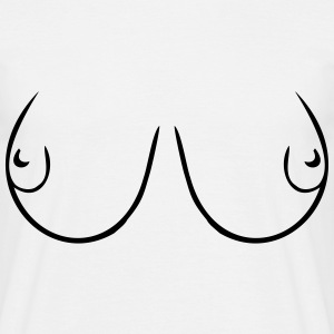 Tits - Men's T-Shirt