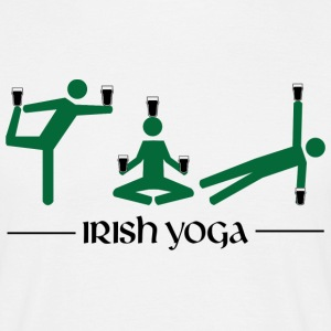 Irish Yoga - Men's T-Shirt
