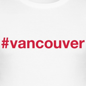 VANCOUVER T-shirts - Slim Fit T-shirt herr