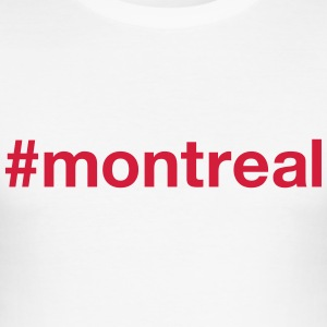 MONTREAL T-shirts - Slim Fit T-shirt herr