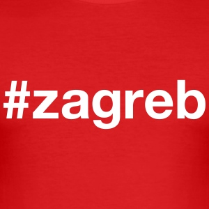 ZAGREB T-Shirts - Men's Slim Fit T-Shirt