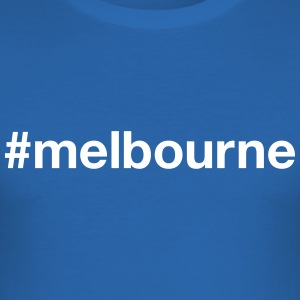 MELBOURNE T-Shirts - Men's Slim Fit T-Shirt