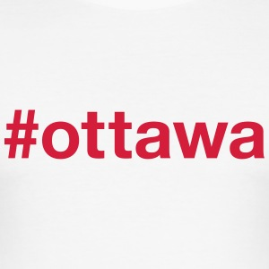 OTTAWA T-shirts - Slim Fit T-shirt herr