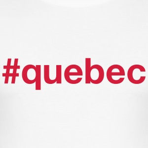 QUEBEC T-Shirts - Men's Slim Fit T-Shirt