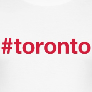 TORONTO T-shirts - Slim Fit T-shirt herr