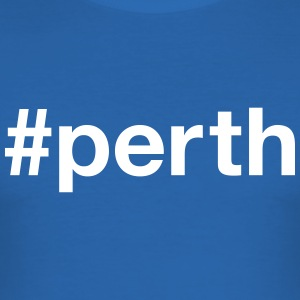 PERTH T-shirts - Slim Fit T-shirt herr