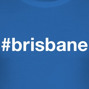 BRISBANE T-shirts - Slim Fit T-shirt herr