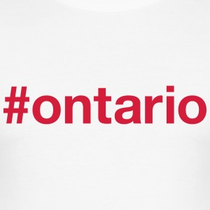 ONTARIO T-shirts - Slim Fit T-shirt herr