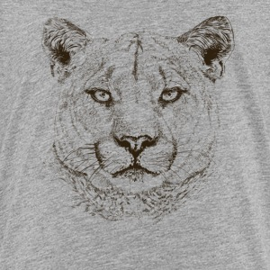 cougar T-shirts - Teenager premium T-shirt